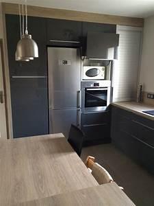 Simulateur Cuisine Ikea : awesome tu peux la placer regarde ce que que a donne sur ma cuisine meuble de gauche juai ~ Preciouscoupons.com Idées de Décoration