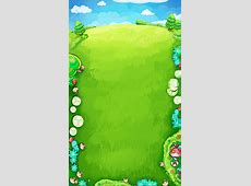h5 game background, Cartoon Background, Cartoon Meadow