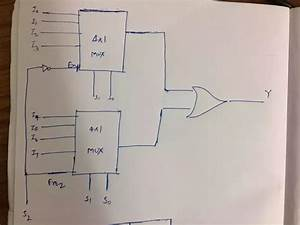 How Do Implement An 8 1 Line Multiplexer Using Two 4 1 Line Multiplexers