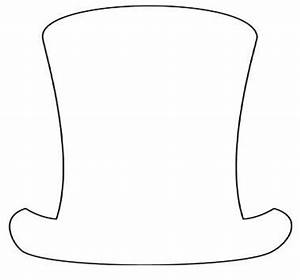 Best Photos of Top Hat Template - Snowman Top Hat ...