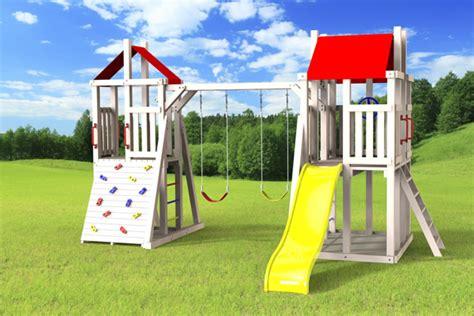 jeux exterieur pour enfants outdoor swing set the demi tour 4x6 jeux modul air