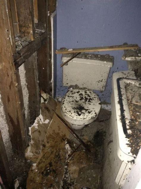 bathroom explosion montebello mayor survives