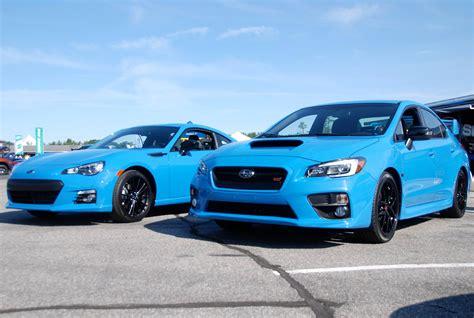 subaru blue meet subaru 39 s new hue hyper blue autotalk