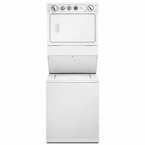 Whirlpool Thin Twin U00ae 27 In  Electric Laundry Center