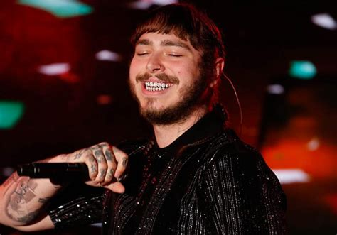 Post Malone Performs 'congratulations' On 'kimmel'