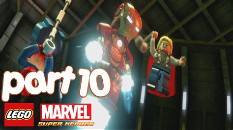 lego marvel heroes gameplay walkthrough part 10 modok fight that sinking feeling