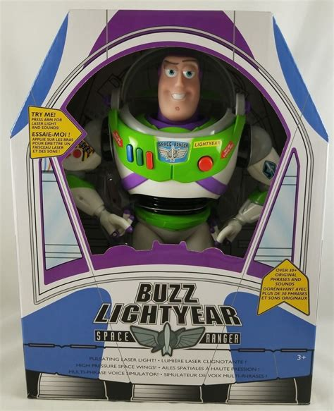 disney store toy story talking buzz lightyear action
