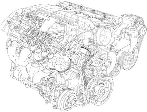 corvette   ls engine parts detail photographs