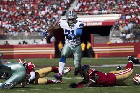 Dallas Cowboys @ San Francisco 49ers Dak Prescott And