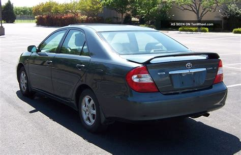 2002 Toyota Camry by 2002 Toyota Camry Le Priced To Sell