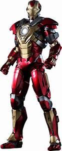 Iron Man 3 | Mark XVII (17) Heartbreaker Armor 1/6th Scale ...
