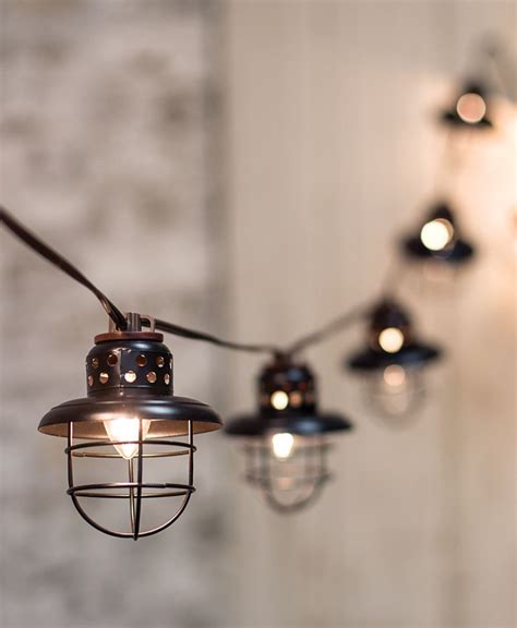 lantern string lights black string lights design decoration