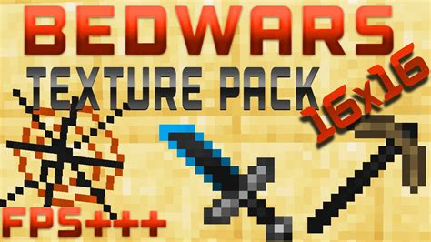 Bedwars 16x16 Texture Pack Fps 18 Youtube