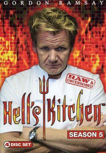 hell s kitchen season 5 hell s kitchen dvd hd dvd fullscreen widescreen blue