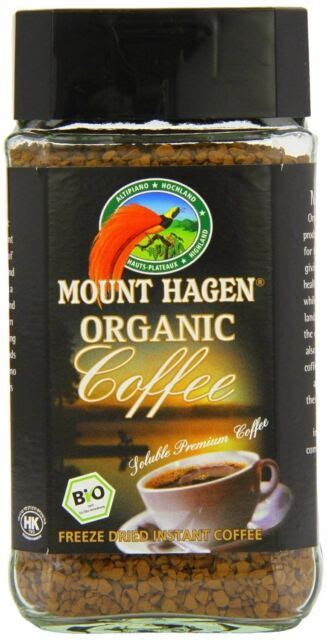 I buy 2 or 3 at a time from vitacost when on sale. Mount Hagen: Organic Café Freeze Dried Instant Coffee 3 X 3.53 Oz for sale | eBay