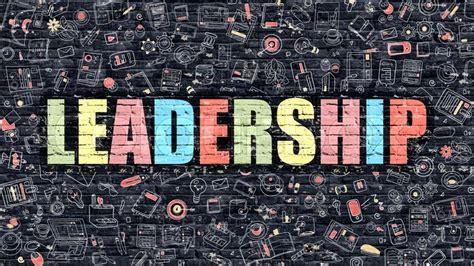 leadership concept leadership drawn  stock photo
