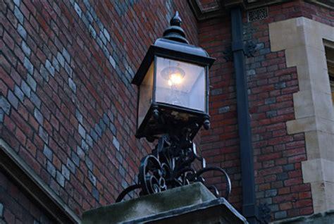 gas lamps  gas lighting  london england uk