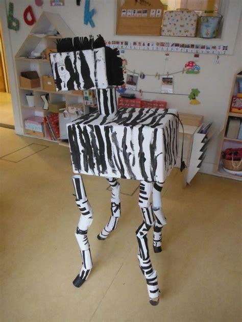 groepswerk zebra paper crafts jungle crafts jungle