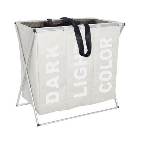 poubelle de porte cuisine wenko panier à linge trio crème panier à linge wenko sur