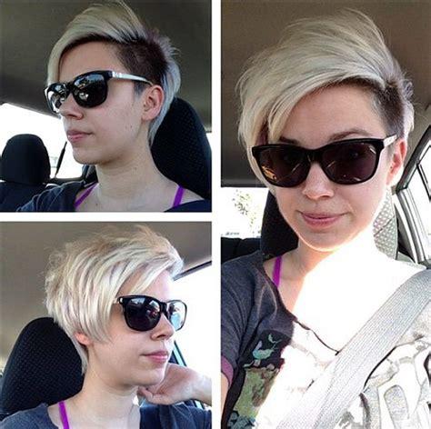 bold  gorgeous asymmetrical pixie cuts