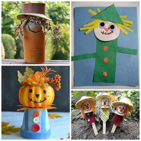 scarecrow crafts for to make this fall crafty morning 308 | scarecrow crafts for kids to make