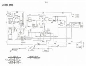 Wiring Diagram For Cub Cadet Model 2166  U2013 Powerking Co