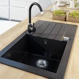 Küchenspüle Mit Unterschrank Günstig : einbau granitsp le mojito 40 f r 50er u schrank ~ Lizthompson.info Haus und Dekorationen