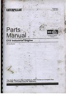 Caterpillar C15 Industrial Engine Parts Manual