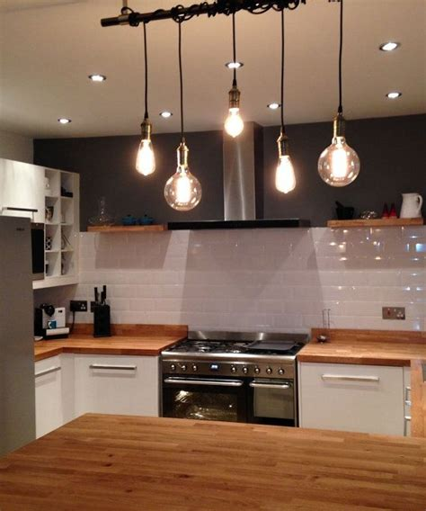 custom kitchen lighting 5 pendant light wrap a pipe or bar modern chandelier 3063