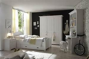 Jugendzimmer Weiß Massiv : cinderella premium jugendzimmer 3 teilig schlafzimmer in kiefer weiss massive naturm bel ~ Indierocktalk.com Haus und Dekorationen