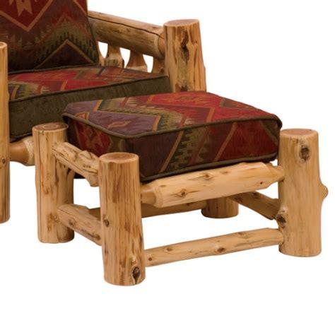 fireside lodge cedar log sofa