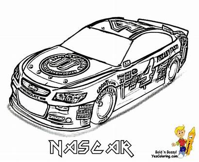 Nascar Race Cars Clipart Coloring Clip Jeff
