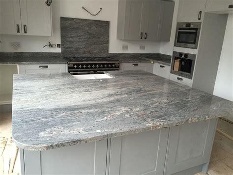 Installation of Bianco Piracema Natural Granite Worktops