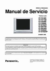 Circuitos Panasonic Ctg2175s Chasis Gn3 Tv Service Manual