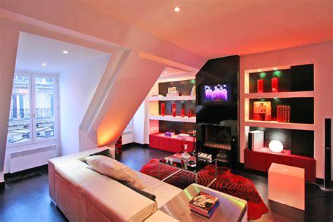 cuisine studio décoration appartement chaleureux