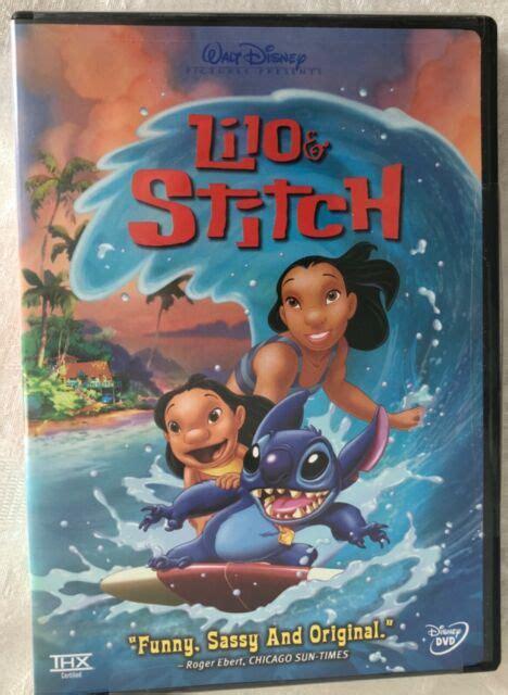 Do leroy and stitch dvd menu. Lilo Stitch (DVD, 2002) for sale online   eBay