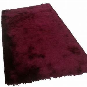 tapis shaggy bordeaux longues meches With tapis shaggy bordeaux