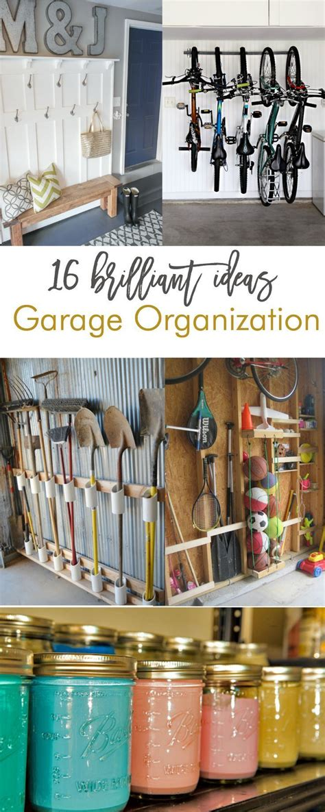 brilliant garage organization ideas love