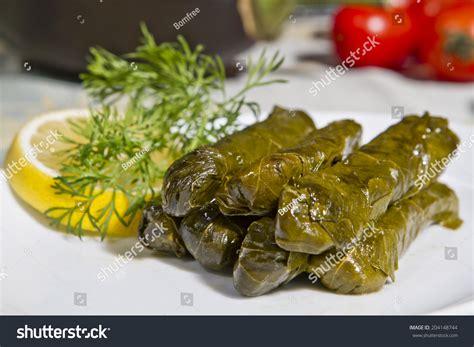 cuisine wrap wrap stuffed olive ottoman stock photo