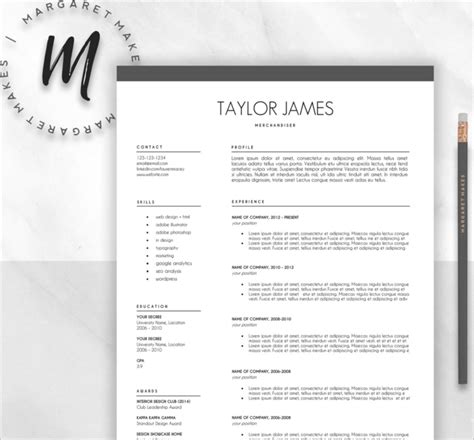 Minimalistic Resume Psd Template by 21 Resume Design Templates Free Psd Word Designs Creative Template