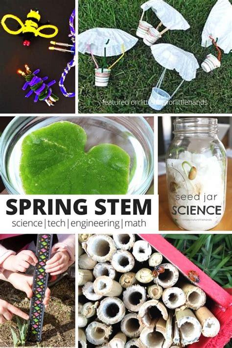 seasonal science experiments  seasonal stem activities