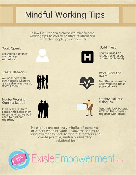 Infographic 6 Mindfulness Tips To Build Better Working. Tips On Writing College Essay Template. Weekly Appointment Calendar Template. Sample Of Proposal Sample For Upwork. Well Done Job Appreciation Letter Sample Template. Fret Scale Template. Truck Maintenance Log Book Template. Printable Daily Weekly Planner Template. Table Seating Chart Weddings Template