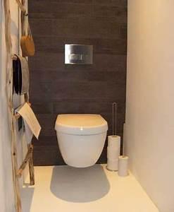 10 facons d39arranger la deco de ses wc deco cool for Awesome wc suspendu couleur gris 10 toilette carrelage imitation bois wc pinterest