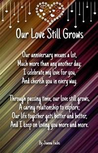 wedding anniversary poems anniversary sentiments and poems for husband hug2love