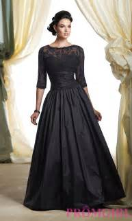 black cocktail dresses for weddings 2014 mid sleeve evening dresses taffeta lace formal prom gown dress ebay