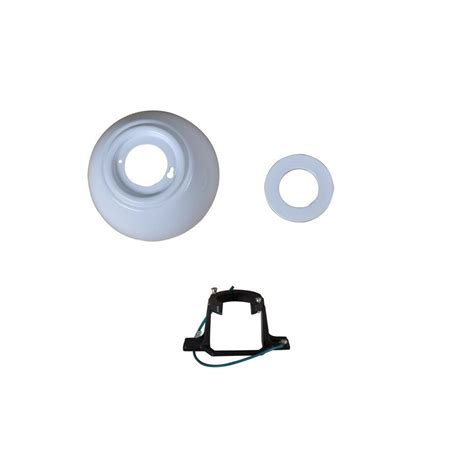 carrington 60 in white ceiling fan replacement mounting