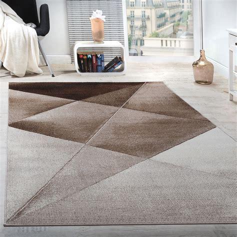 teppich geometrische muster braun teppichcenter