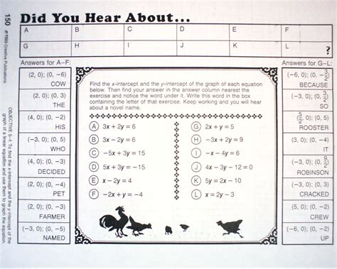 hear  math worksheets answer key