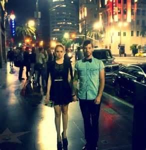 Josh Dun and Debby Ryan