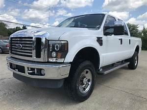 2009 Ford F250 Lifted Diesel 6 4 Powerstroke 4x4 Crew Cab Florida Truck